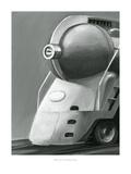 Vintage Locomotive I Prints by Ethan Harper