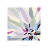 Geometric Dahlia II Poster von Erica J. Vess