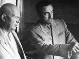 Premier Nikita Khrushchev at Simferpol Control Center in Crimea Photo