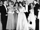 Political and Entertainment Celebrities at the 1953 Eisenhower Inaugural Celebrations Photographic Print