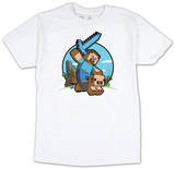 Youth: Minecraft - Pig Riding T-Shirt