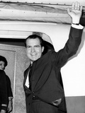 Former Vice Pres Nixon, Heading for Tokyo and Hong Kong on Business for NY Law Firm, Nov 13, 1964 Photographic Print