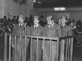 Four Iraqi Airmen on Trial for Taking Part in a Rebellion Photographic Print