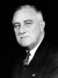 President Franklin Roosevelt in a Portrait Photo Released for the Second Inaugural, Jan 19, 1937 Photographic Print