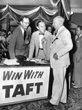 Senator Robert Taft's Two Sons Promote their Father's GOP Presidential Nomination Poster