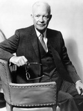 President Eisenhower in a 1966 Portrait Photographic Print