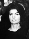 Jacqueline Kennedy at Ceremonies for Assassinated Husband, Pres John Kennedy, Nov 24, 1963 Poster