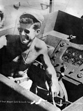 Lt John Kennedy in the Pacific During World War Ii Photographic Print