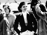 Jacqueline Kennedy at a Hunt in Virginia in June 1961 Photographic Print