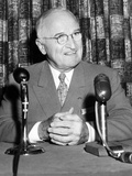 Former President Harry Truman in 1958 Photographic Print