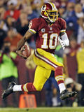 Washington Redskins and New York Giants NFL: Robert Griffin III Photographic Print by Evan Vucci