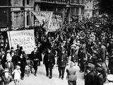 May Day Parade of the Communists, and Left Wing Labourites Photographic Print