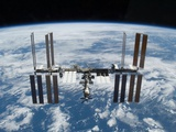 International Space Station in 2009 Photographic Print