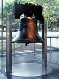 The Liberty Bell, on Display at Independence National Historical Park, in Philadelphia, ca 2000 Photo