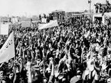 Anti-Western Demonstration in Iran in 1952 Photo