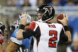 Detroit Lions and Atlanta Falcons NFL: Matt Ryan Photographic Print by Carlos Osorio