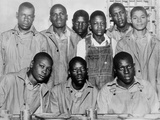 'Scottsboro Boys' in Jefferson County Jail, Birmingham Kunstdrucke