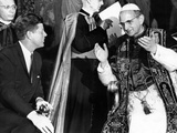President John Kennedy and Pope Paul VI in Conversation Photo