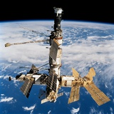 Russian Space Station Mir Photographic Print
