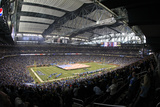 Detroit Lions and Houston Texans NFL: Ford Field Photographic Print by Carlos Osorio