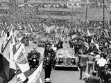 President John Kennedy Welcomed in Mexico City Photographic Print