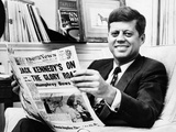 Sen John Kennedy Becomes the Front-Runner for the 1960 Democratic Presidential Nomination Posters