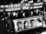 Anti-Vietnam War Protest in Milan, Italy Photo