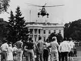 President John Kennedy's New Helicopter Takes Off from the South Lawn Photo
