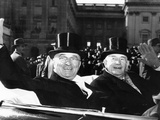 President Truman with His Vice President, Former Democratic Senate Leader Alben Barkley Photographic Print