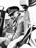 General Eisenhower Visits Front Lines on November 29, 1944 Photo