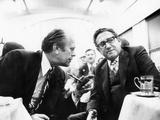 President Gerald Ford and Henry Kissinger at Strategic Arms Limitation Talks (SALT), Nov 23, 1974 Photographic Print