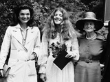 Caroline Kennedy, Graduates from Concord Academy Photographic Print