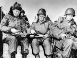 President-Elect Dwight Eisenhower Eating with Soldiers in Korea on Dec 1, 1952 Print