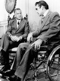 Vice President Spiro Agnew Visits with Right Wing Segregationist Democratic Governor George Wallace Photo