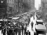 New York Bonus Marchers Leave for to Washington, June 4, 1932 Prints