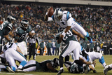 Philadelphia Eagles and Carolina Panthers NFL: Cam Newton Photographic Print by Mel Evans