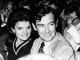 Jacqueline Kennedy Onassis and Architect Edward Barnes Attend a Broadway Musical, 'Forty Carats' Posters