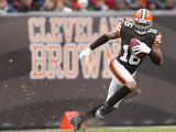 Cleveland Browns Stadium NFL: Josh Cribbs Photographic Print by Rick Osentoski