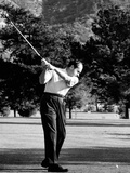 President Richard Nixon Golfing Photo