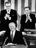 President Ford Delivers His First State of the Union Address Fotografie-Druck