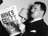 Thomas Dewey, Made Headlines as a Racket Busting District Attorney Photographic Print