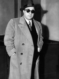 Albert Anastasia Arriving to Testify before Senate Crime Investigating Committee, Mar 20, 1955 Photo