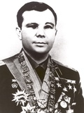 Russian Cosmonaut Yuri Gagarin Was the First Human in Space, ca 1961 Photo