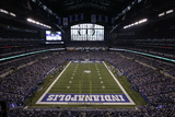 Lucas Oil Stadium NFL: Lucas Oil Stadium Photographic Print by AJ Mast