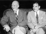 1952 Republican Nominee Dwight Eisenhower, Receives Thomas Dewey's Full Support Photographic Print