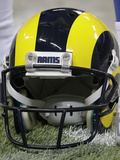 St. Louis Rams and San Francisco 49ers NFL: St. Louis Rams Helmet Photographic Print by Seth Perlman
