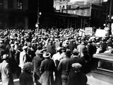Demonstration of Hundreds of Unemployed in Kansas City, Missouri Photographie