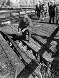 The Santa Barbara Oil Field Was Shelled by a Japanese Submarine Photo