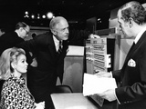 Thomas J Watson Jr Talks with IBM Stockholders before their Yearly Meeting in the New York Coliseum Photo