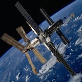 Russian Space Station Mir Photo